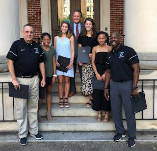 Montgomery Catholic Girls Track and Cross Country Team Recognized by Mayor Strange 2