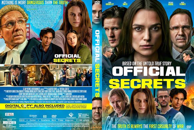 Official Secrets DVD Cover