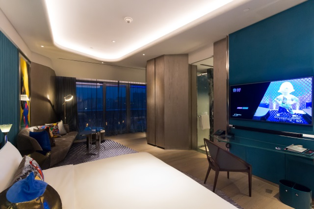 Wonderful Room with Lake View at W Hotel Xi'an China