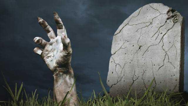 Dikubur Hidup-Hidup