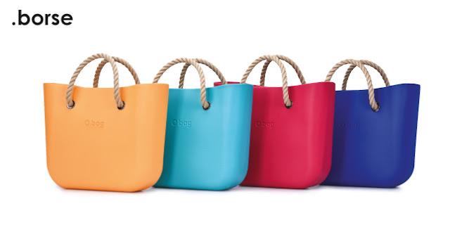 borse O bag colorate
