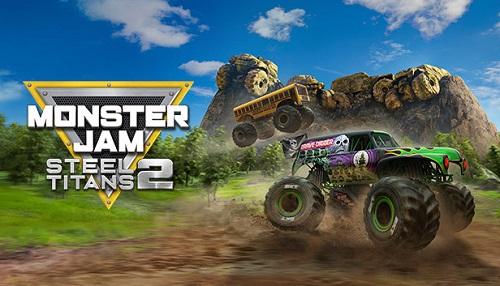 Monster Jam Steel Titans 2 Front & Back Cover