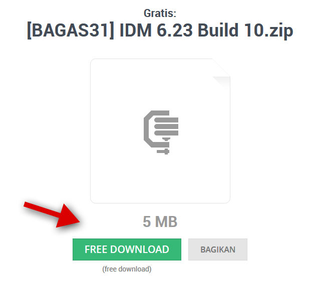 Cara Download Software di BAGAS31.com