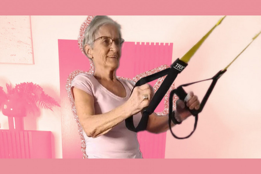 81 years old and destroys all fitness challenges