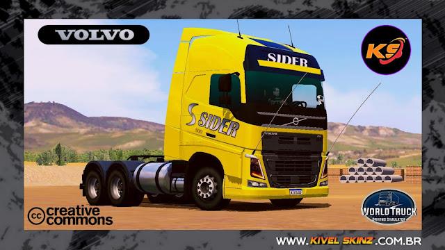 VOLVO FH16 750 - TRANSPORTADORA SIDER