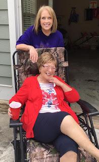 Betty S Morton and daughter Susan Leonard