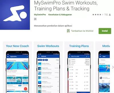 5 Aplikasi Belajar Berenang Terbaik Gratis [Android]-5