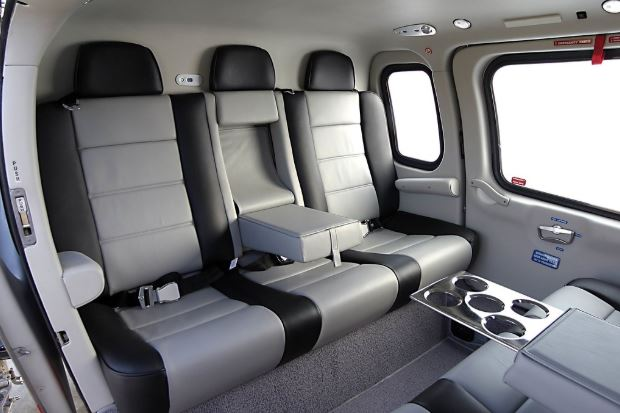 AgustaWestland AW109 Power interior