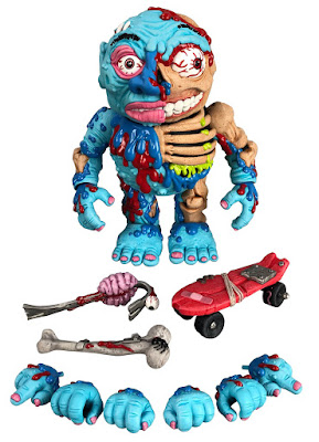"Madballs Premium DNA 6"" Action Figures Wave 1 by Megalopolis Toys x James Groman"