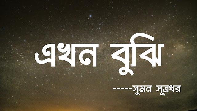 এখন বুঝি-Poem