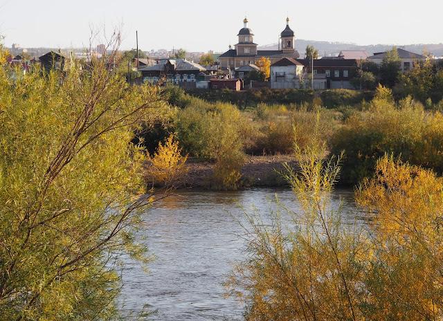 Улан-Удэ, река Уда