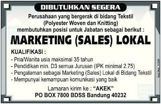 Pengertian dan Contoh Teks Iklan Baris | Bahasa Indonesia SMP 2019