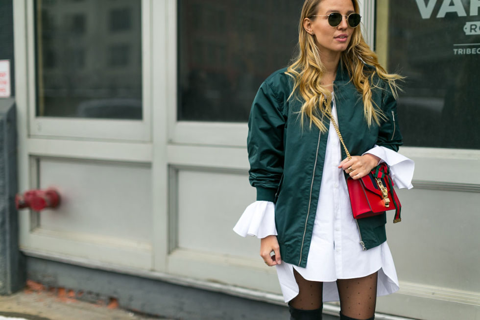 New York Fashion Week Street Style Fall 2017 Fashion Trends
