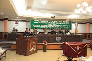 Rapat Paripurna XXXIV DPRD Pengambilan Keputusan Terhadap Raperda - Tarakan Info