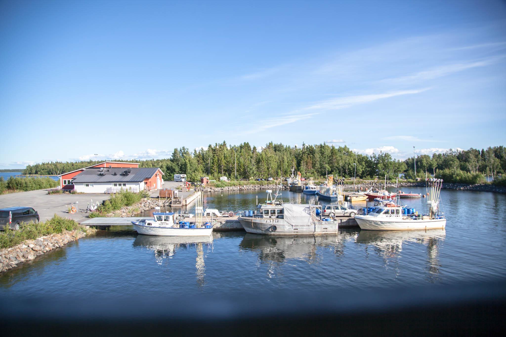 Trullö fiskehamn Kokkola