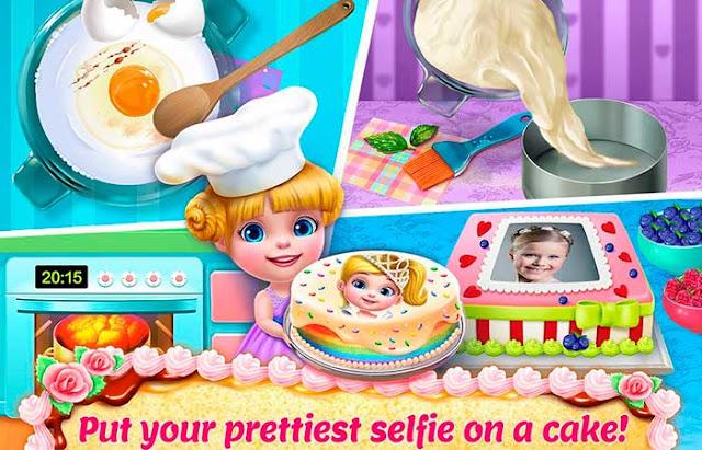 real cake maker 3D juego para niñas