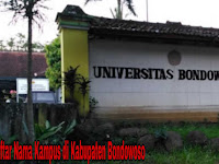 6+ Kampus di Kabupaten Bondowoso yang Bagus