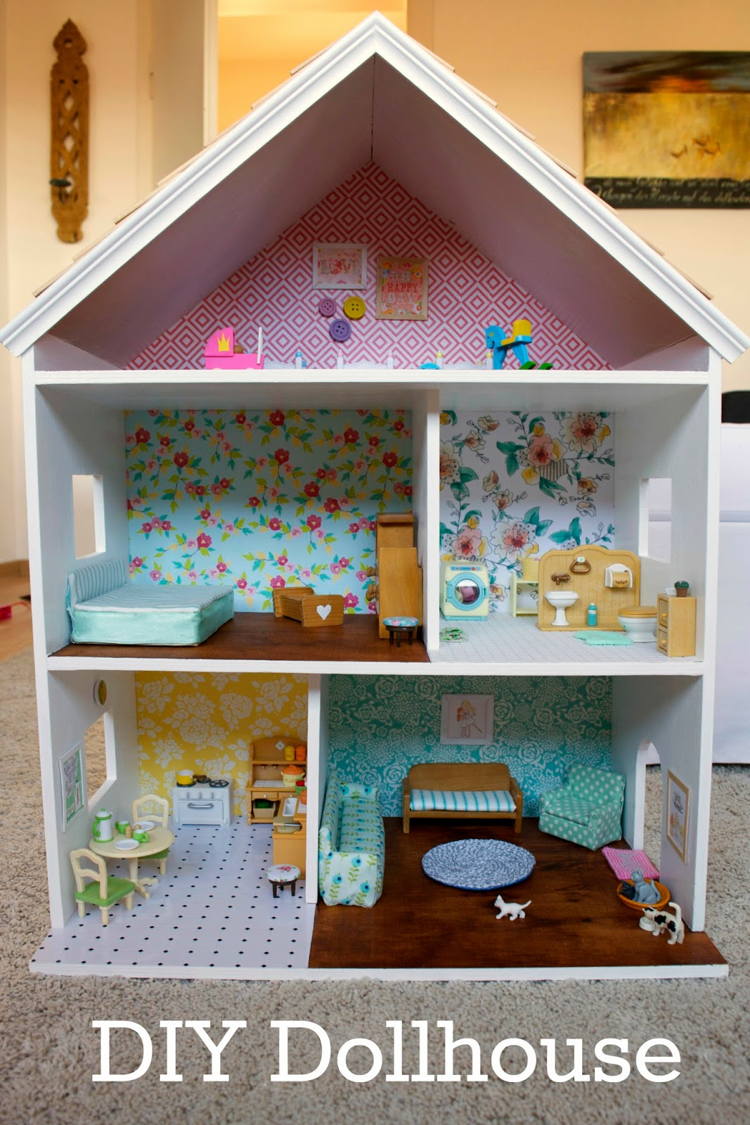 House Of Wimm Diy Sylvanian Dollhouse Part 3 The Reveal