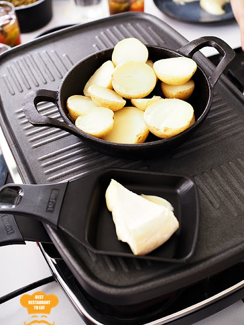 Raclette Table Top Home Machine