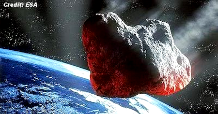 Bus Sized Asteroid Will Give Earth a Close Shave