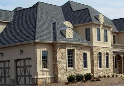 stone style house 09