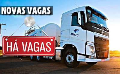 Transportadora Masut abre novas vagas para Motorista