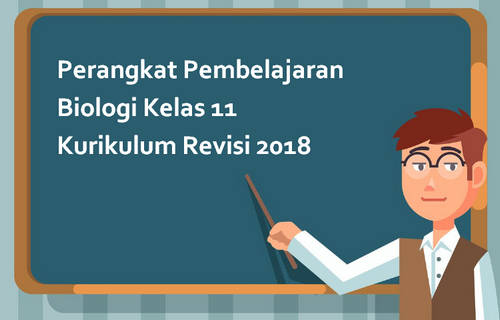 Perangkat Pembelajaran Biologi Kelas 11 Kurikulum Revisi 2018
