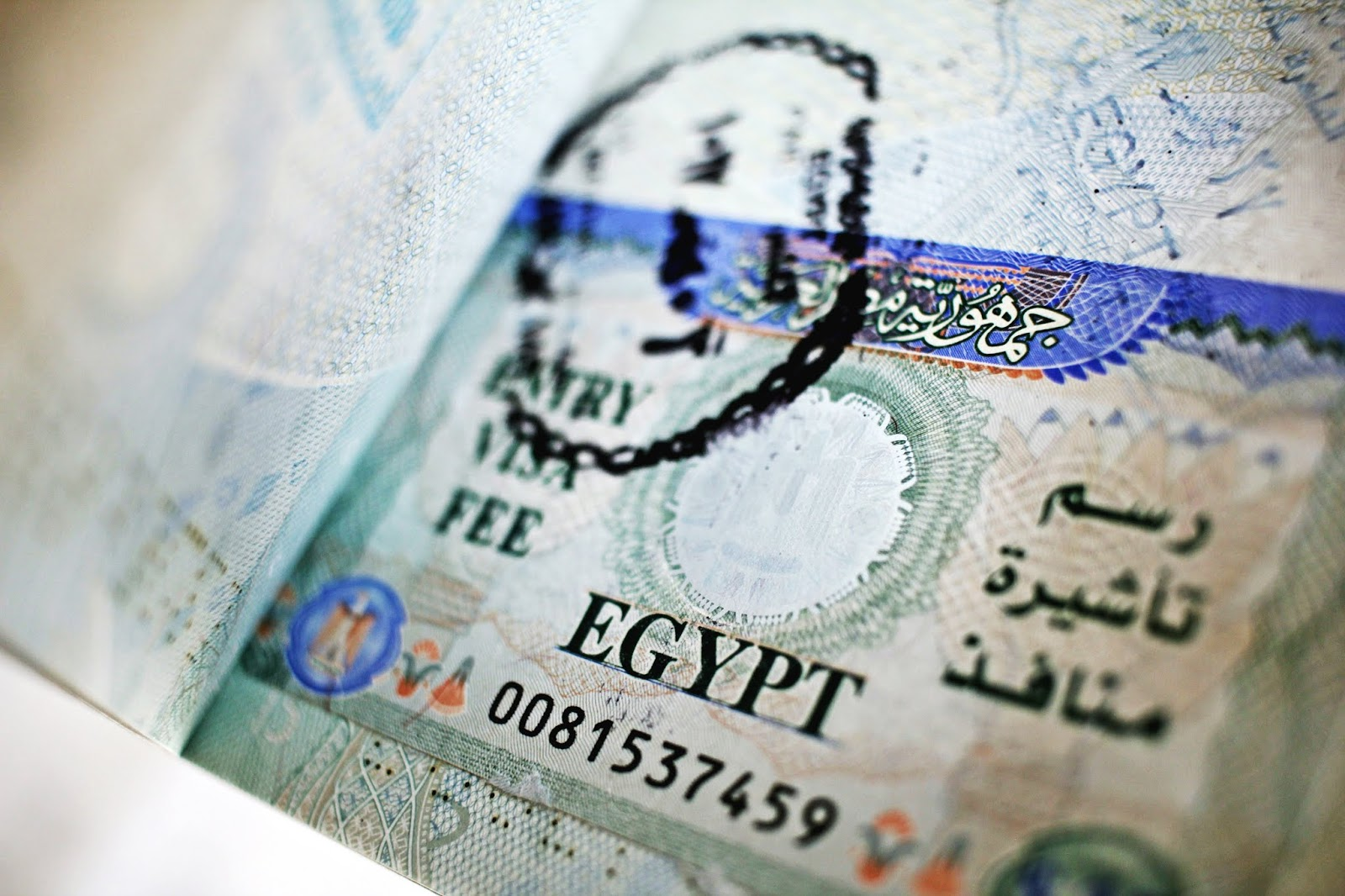 egypt visa passport