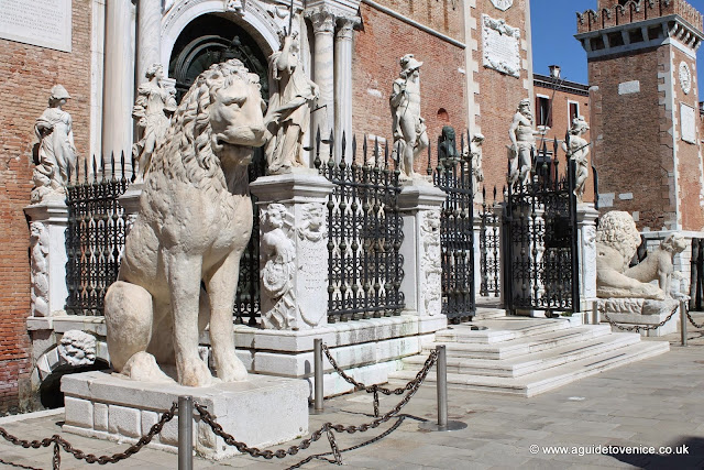 Entrance to the Arsenale, Venice