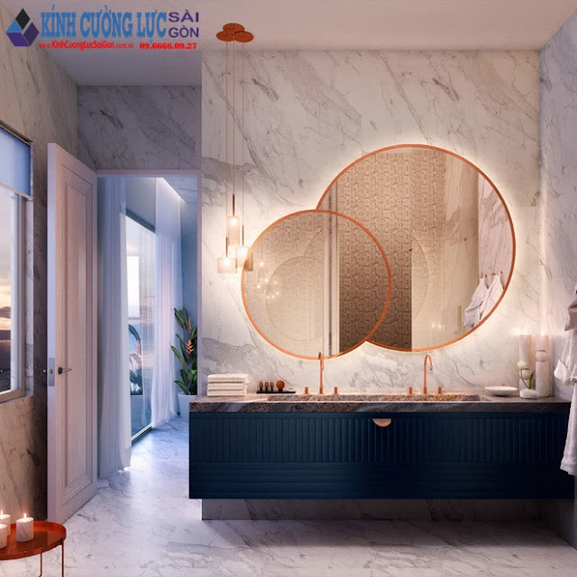 Gợi ý chọn gương hợp với phòng tắm gia đình giữa vô số mẫu gương đẹp