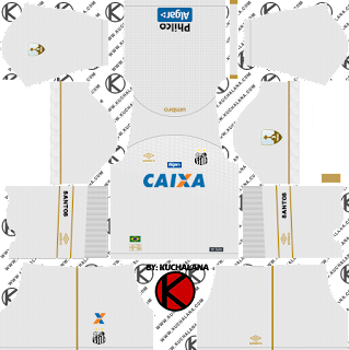 Santos FC 2018/19 Kit - Dream League Soccer Kits