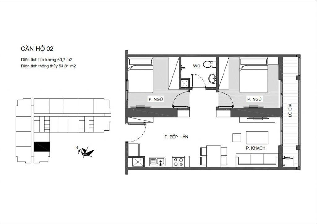 căn 2 ngủ chung cư an bình plaza