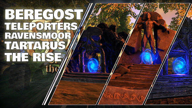 Teleporters to Ravensmoor, Tartarus and The Rise added in Beregost • Shroud of the Avatar News