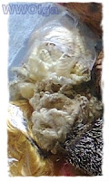 материал флис (кудри)