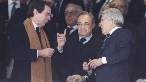 La afición del Real Madrid quiere ver fuera a Florentino Pérez