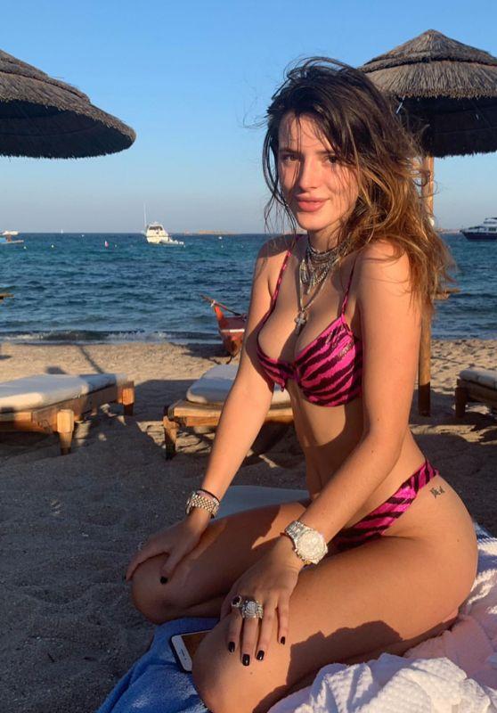 Bella Thorne in a Bikini