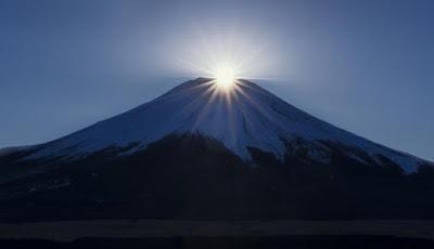 """Fenômeno """"Diamante Fuji"""""""