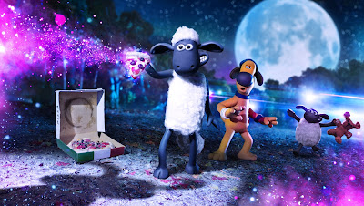 La oveja Shaun, Granjaguedón Poster
