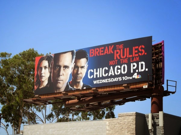 Chicago P.D. season 2 billboard