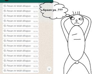 Cara melihat pesan Whatsapp yang dihapus oleh pengirimnya