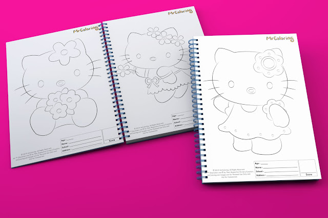 printable anime sweet hello kitty template outline coloriage coloring pages book pdf pictures to print out for kids to color fun teens girls toddler preschool kindergarten
