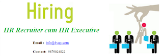HR Recruiter cum HR Executive