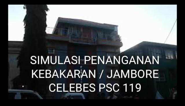 VIDEO, Simulasi Penanganan Kebakaran | Jambore Celebes PSC 119 Di Pinrang