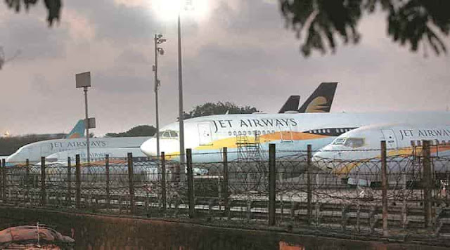 AFTER 25 YEARS, JET AIRWAYS GROUNDED ITSELF FROM TODAY