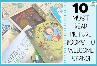 spring themed picture books for upper elementary