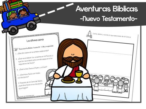 Jesús comparte la santa cena con sus discípulos