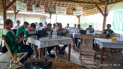 Suasana Rapat kerja serikat pekerja linfox