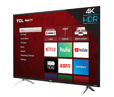 TCL 43S405 43-Inch 4K Ultra HD Roku Smart LED TV