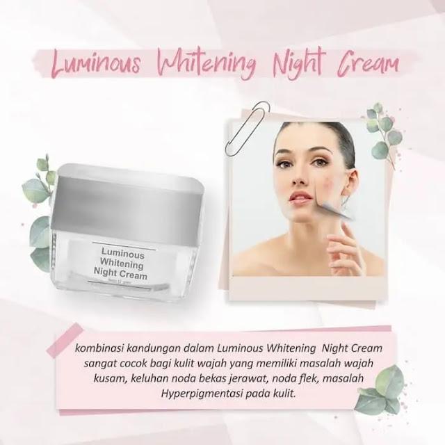 Cream Malam Luminous MS Glow