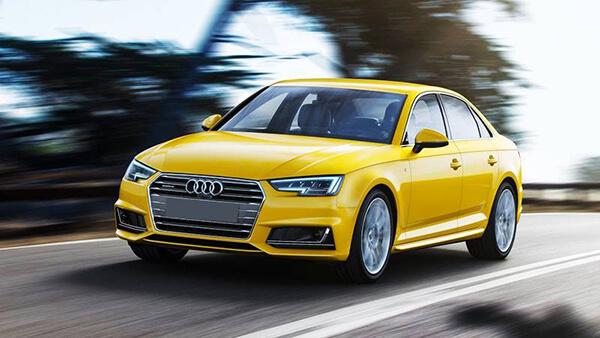 Audi A4 2021. Màu vàng. Mới 99%